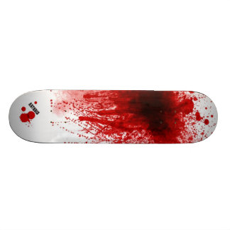 Blood Splatter Skateboard Decks