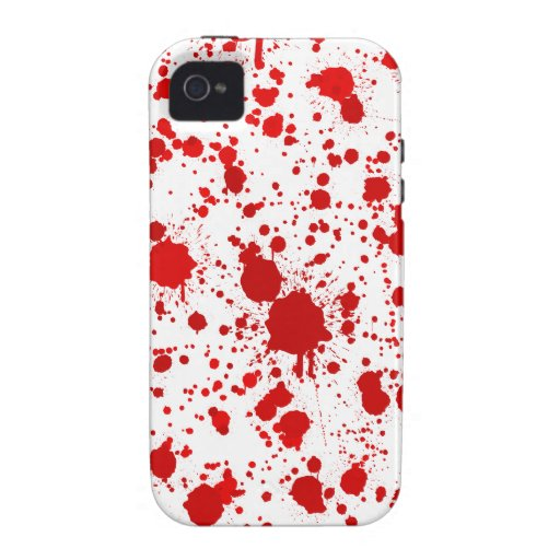 Blood Splatter ...Would Kill For This iPhone 4 Cover