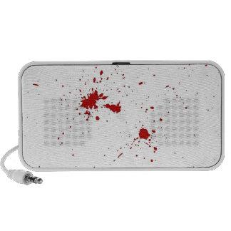 Blood Splattered Notebook Speakers