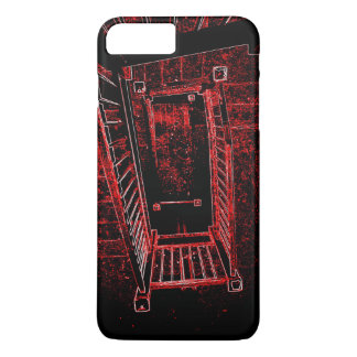 Blood Splattered Stairs iPhone 7 Plus Case