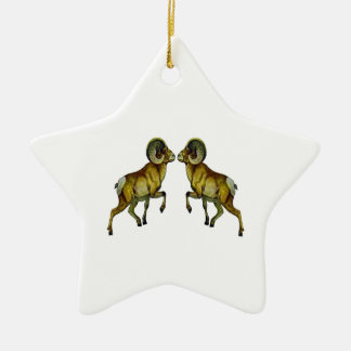 Blood Sport Ceramic Ornament