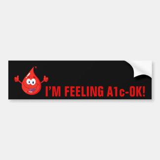 Blood Sugar Control Bumper Sticker