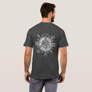 Blood, Sweat & Service (Dark Shirt) T-Shirt