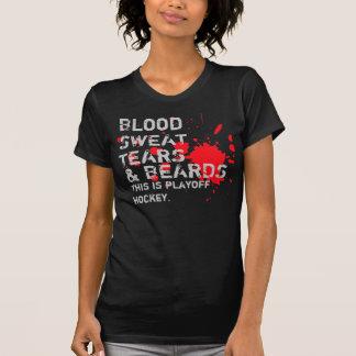 Blood, Sweat, Tears & Beards T-Shirt