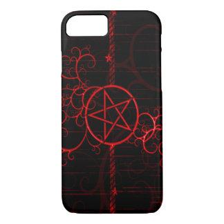 Blood Witch Grunge Pentagram iPhone 7 Case