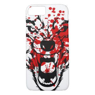 Blood Wolf iPhone 7 Case