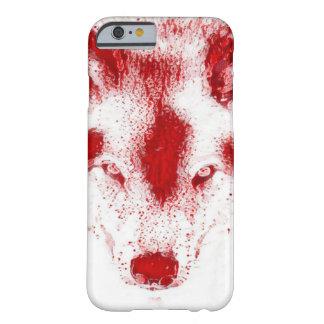 Blood Wolf Wildlife Art iPhone 6/6s Case