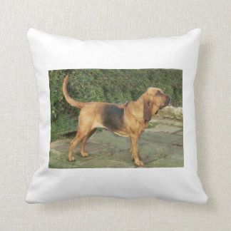 Bloodhound_black_and_tan full.png throw pillow