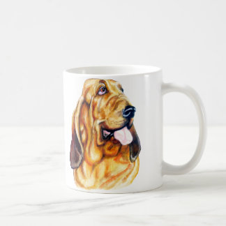 Bloodhound Bust Coffee Mug