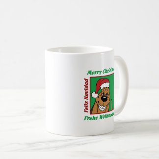 Bloodhound Christmas Coffee Mug