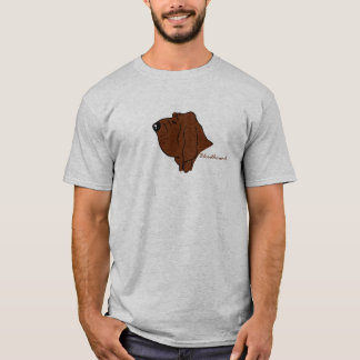 Bloodhound head silhouette T-Shirt