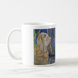 Bloodhound Hunting Dog Coffee Mugs