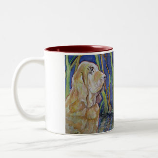 Bloodhound Hunting Dog Mug