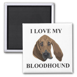 Bloodhound Love Magnet