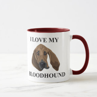 Bloodhound Love Mug