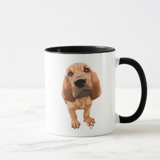 Bloodhound Puppy Mug