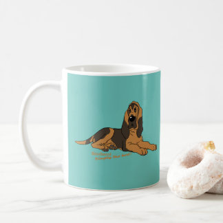 Bloodhound - Simply the best! Coffee Mug
