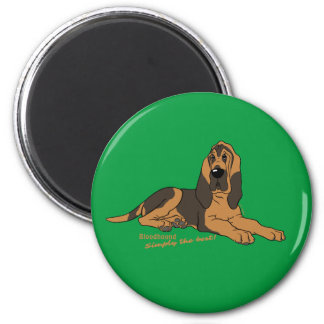 Bloodhound - Simply the best! Magnet