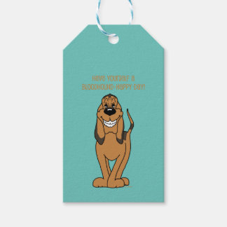 Bloodhound Smile Gift Tags