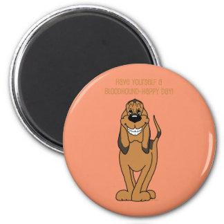Bloodhound Smile Magnet