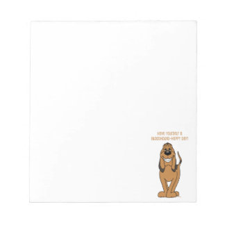 Bloodhound Smile Notepad