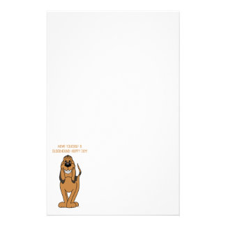 Bloodhound Smile Stationery