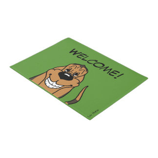 Bloodhound Welcome Doormat