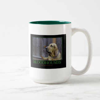 BLOODHOUNDS Two-Tone COFFEE MUG