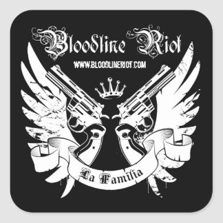 Bloodline Riot - La Familia Sticker