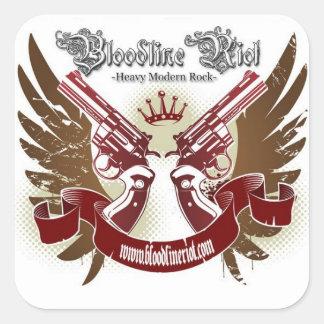 Bloodline Riot Sticker - Square