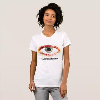 Bloodshot eyeball T shirt for Girls