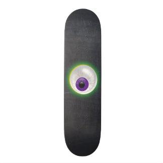 Bloodshot Floating Zombie Eyeball Halloween Eye Skate Board