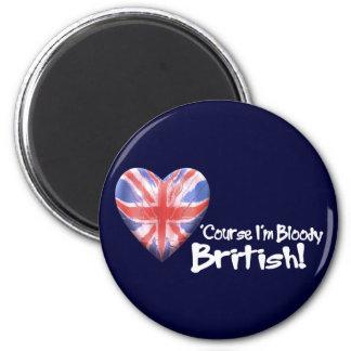Bloody British Magnet