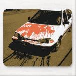 Bloody Car Mouse Mats