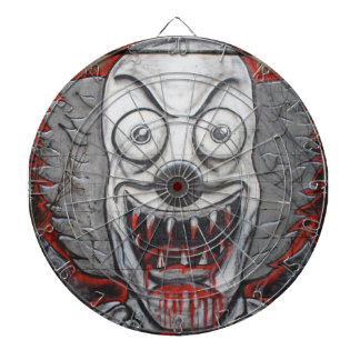 Bloody Clown Dartboard