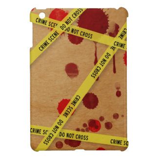 Bloody Crime Scene iPad Mini Case