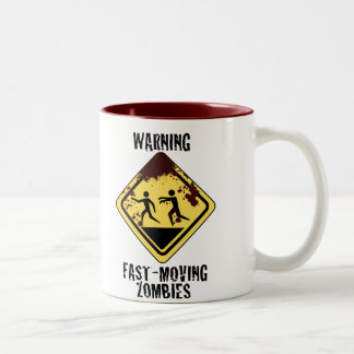Bloody Fast Moving Zombies Mug