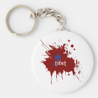 Bloody free tibet keychains