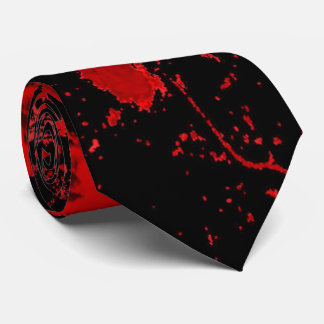 Bloody Gothic Pagan Celtic Cross Tie