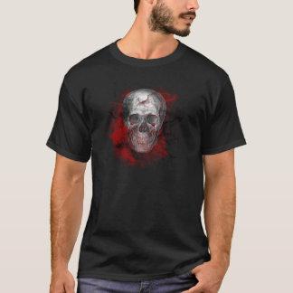 Bloody Grunge Skull Gothic T-Shirt