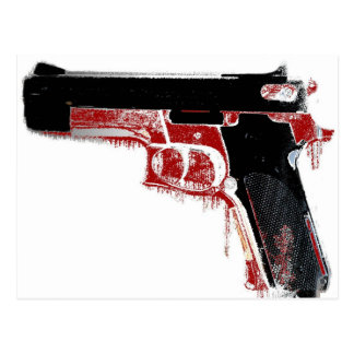 Bloody Gun Postcard