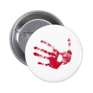 Bloody Hand Pin