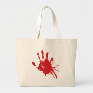 Bloody Handprint Bag