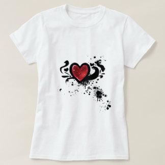 Bloody heart tshirt