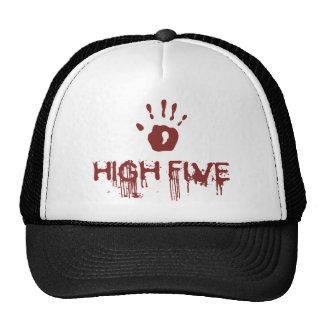 Bloody high five cap