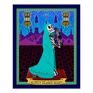 Bloody Islamic Mary (Canvas) Poster