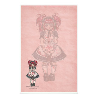 Bloody Lolita Gothic Stationery