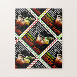 BLOODY MARY, Brunch of Champions Jigsaw Puzzle