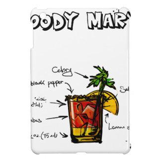 Bloody Mary Cocktail Recipe iPad Mini Case