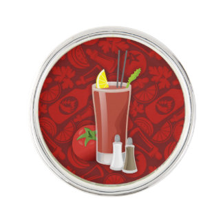 Bloody Mary Lapel Pin
